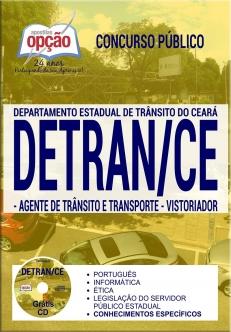 Concurso DETRAN CE 2017-ASSISTENTE DE ATIVIDADE DE TRÂNSITO E TRANSPORTE-ANALISTA DE TRÂNSITO E TRANSPORTE (COMUM A TODOS)-AGENTE DE TRÂNSITO E TRANSPORTE E VISTORIADOR