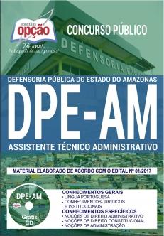 Concurso DPE-AM 2017-ASSISTENTE TÉCNICO ADMINISTRATIVO
