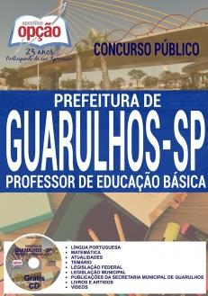 Concurso Guarulhos SP 2016-PROFESSOR DE EDUCAÇÃO BÁSICA - EDUCAÇÃO FÍSICA-PROFESSOR DE EDUCAÇÃO BÁSICA