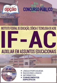 Concurso IFAC 2016-AUXILIAR DE ASSUNTOS EDUCACIONAIS-ASSISTENTE DE ALUNO
