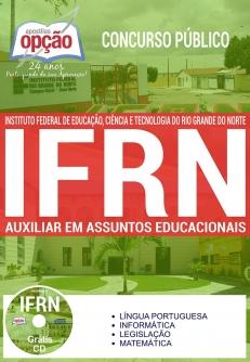 Concurso IFRN 2017-AUXILIAR EM ASSUNTOS EDUCACIONAIS-AUXILIAR EM ADMINISTRAÇÃO