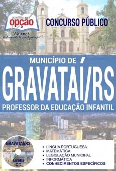 Concurso Município de Gravataí 2017-PROFESSOR DA EDUCAÇÃO INFANTIL