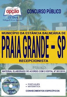 Concurso Município de Praia Grande 2018-RECEPCIONISTA