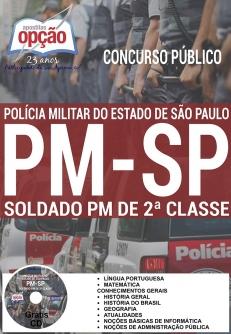 Concurso PM SP 2017-SOLDADO PM DE 2ª CLASSE