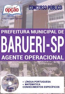 Concurso Prefeitura de Barueri SP 2017-CUIDADOR SOCIAL-AUXILIAR DE CLASSE-AGENTE OPERACIONAL-AGENTE DE SERVIÇOS-AGENTE DE MACA-AGENTE DE INCLUSÃO ESCOLAR