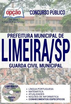 Concurso Prefeitura de Limeira 2017-GUARDA CIVIL MUNICIPAL