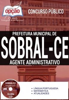 Concurso Sobral CE 2016-AGENTE ADMINISTRATIVO