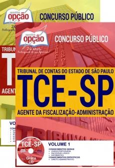Concurso TCE SP 2017-AGENTE DA FISCALIZAÇÃO-ADMINISTRAÇÃO-AGENTE DA FISCALIZAÇÃO
