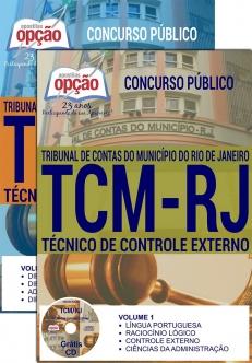 Concurso TCM RJ 2016-TÉCNICO DE CONTROLE EXTERNO
