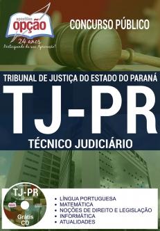 Concurso TJ PR 2017-TÉCNICO JUDICIÁRIO