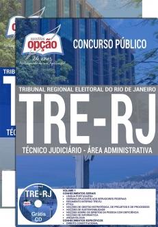 Concurso TRE RJ 2017-TÉCNICO JUDICIÁRIO - ÁREA ADMINISTRATIVA-ANALISTA E TÉCNICO JUDICIÁRIO (COMUM A TODOS)