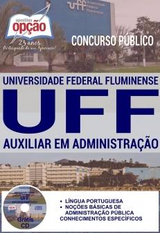Concurso UFF 2017-AUXILIAR EM ADMINISTRAÇÃO-ASSISTENTE EM ADMINISTRAÇÃO