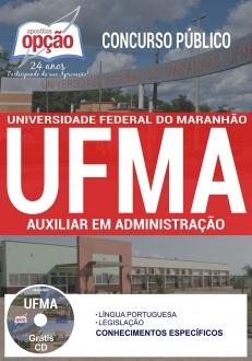 Concurso UFMA 2017-AUXILIAR EM ADMINISTRAÇÃO-ASSISTENTE EM ADMINISTRAÇÃO