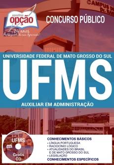Concurso UFMS 2017-AUXILIAR EM ADMINISTRAÇÃO-ASSISTENTE EM ADMINISTRAÇÃO