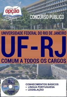 Concurso UFRJ 2016-COMUM A TODOS OS CARGOS