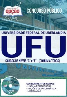 Concurso UFU 2017-CARGOS DE NÍVEIS `C` E `E` (COMUM A TODOS)-AUXILIAR DE SAÚDE