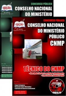 Conselho Nacional do Ministério Público (CNMP)-TÉC DO CNMP – ÁREA APOIO TÉC ESP ADM – ADMINISTRAÇÃO