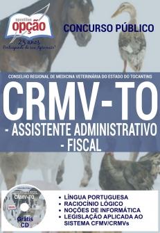 Conselho Regional de Medicina Veterinária / TO (CRMV/TO)-AUXILIAR DE SERVIÇOS GERAIS-ASSISTENTE ADMINISTRATIVO E FISCAL