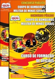 Corpo de Bombeiros Militar / MG-CURSO DE FORMAÇÃO DE OFICIAIS (CFO)