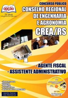 CREA / RS-ASSISTENTE FISCAL / ASSISTENTE ADMINISTRATIVO