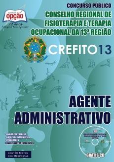 CREFITO / 13ª Região-AGENTE ADMINISTRATIVO