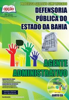 Defensoria Pública Do Estado / BA-AGENTE ADMINISTRATIVO