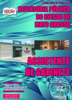Defensoria Pública do Estado / MT-ASSISTENTE DE GABINETE-ASSISTENTE ADMINISTRATIVO-ANALISTA (COMUM A TODOS OS CARGOS)