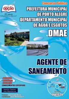 Departamento Municipal de Água e Esgotos de Porto Alegre / RS – DMAE-AGENTE DE SANEAMENTO