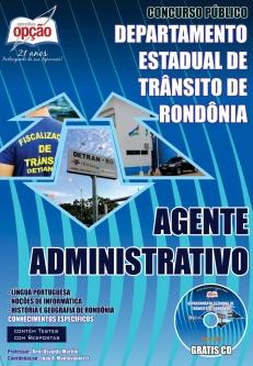 DETRAN / RO-AGENTE ADMINISTRATIVO