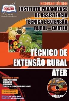 EMATER-TÉCNICO DE EXTENSÃO RURAL - ATER