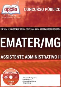 EMATER / MG-ASSISTENTE ADMINISTRATIVO II