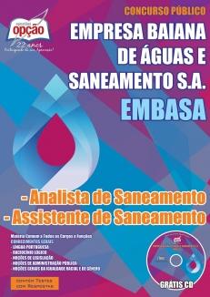 EMBASA-ANALISTA E ASSISTENTE DE SANEAMENTO
