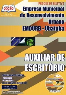 EMDURB-AUXILIAR DE ESCRITÓRIO