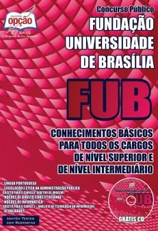 Fundação Universidade de Brasília (FUB)-CONHECIMENTOS BÁSICOS PARA TODOS OS CARGOS