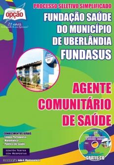 Fundação Saúde do Município de Uberlândia (FUNDASUS)-AGENTE COMUNITÁRIO DE SAÚDE