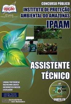 Instituto de Proteção Ambiental do Amazonas – IPAAM-ASSISTENTE TÉCNICO