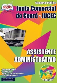 Junta Comercial do Estado do Ceará (JUCEC)-TÉCNICO EM REGISTRO DO COMÉRCIO-ASSISTENTE ADMINISTRATIVO
