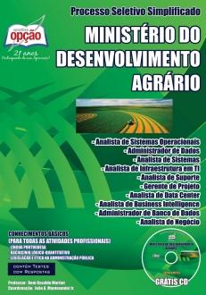 Ministério do Desenvolvimento Agrário (MDA)-CONHECIMENTOS BÁSICOS - PARA TODAS AS ATIVIDADES PROFISSIONAIS