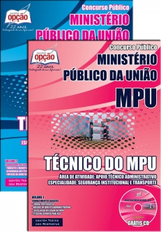 Ministério Público da União (MPU)-TÉCNICO DO MPU-ANALISTA DO MPU (COMUM A TODOS OS CARGOS)