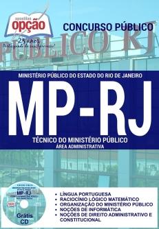 Ministério Público / RJ (MP/RJ)-TÉCNICO DO MINISTÉRIO PÚBLICO - ÁREA ADMINISTRATIVA
