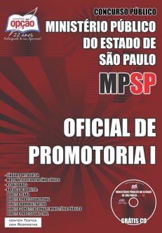 Ministério Público / SP (MP/SP)-OFICIAL DE PROMOTORIA I