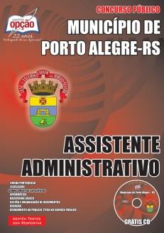 Município de Porto Alegre / RS-ASSISTENTE ADMINISTRATIVO