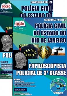 Polícia Civil / RJ (Papiloscopista)-PAPILOSCOPISTA POLICIAL DE 3ª CLASSE