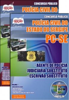 Polícia Civil / SE-AGENTE DE POLÍCIA JUDICIÁRIA SUBSTITUTO / ESCRIVÃO SUBSTITUTO