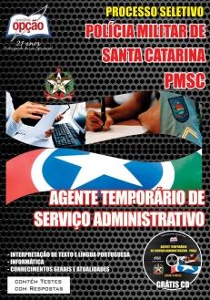 Polícia Militar / SC-AGENTE TEMPORÁRIO DE SERVIÇO ADMINISTRATIVO