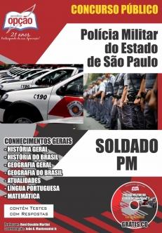 Polícia Militar / SP-SOLDADO DA POLÍCIA MILITAR