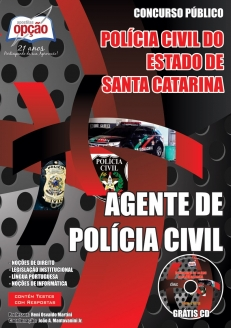 Policia Civil / SC-AGENTE DE POLÍCIA CIVIL