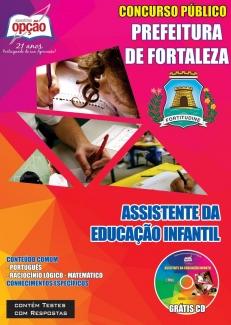 Prefeitura de Fortaleza / CE-ASSISTENTE DA EDUCAÇÃO INFANTIL
