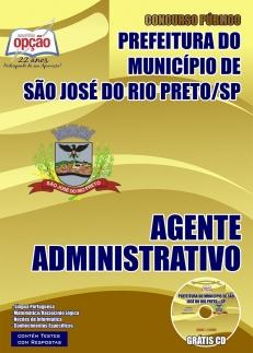 Prefeitura de São José do Rio Preto-AGENTE ADMINISTRATIVO