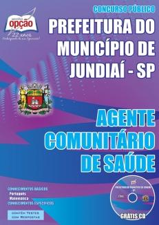 Prefeitura do Município de Jundiaí / SP-AGENTE COMUNITÁRIO DE SAÚDE